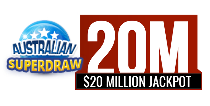 AUSTRALIAN SUPERDRAW - Countdown Is On