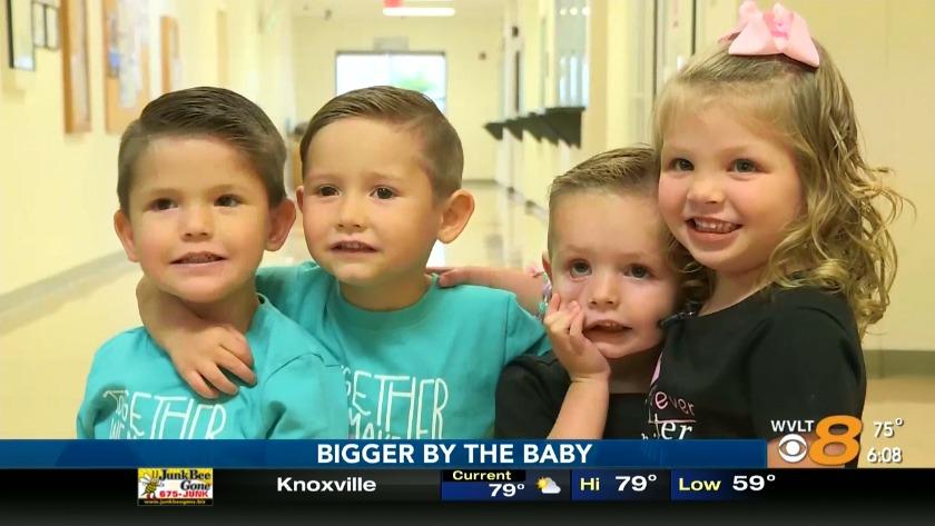 Pasangan East Tenn memiliki tujuh anak sekarang setelah mengadopsi dua pasang kembar