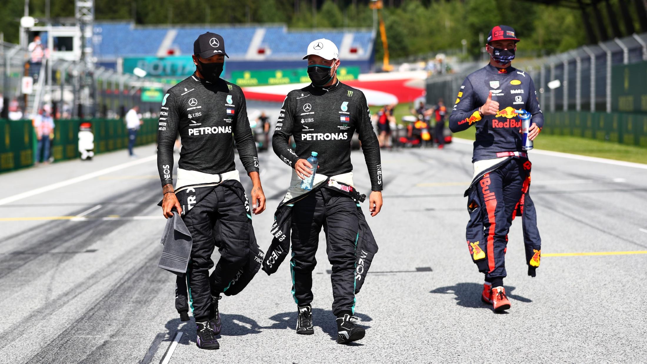 Konferensi pers pasca-kualifikasi FIA - Austria