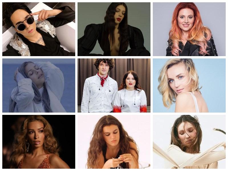 Lagu Teratas Oleh Artis Eurovision Tahun 2020: 30 hingga 21