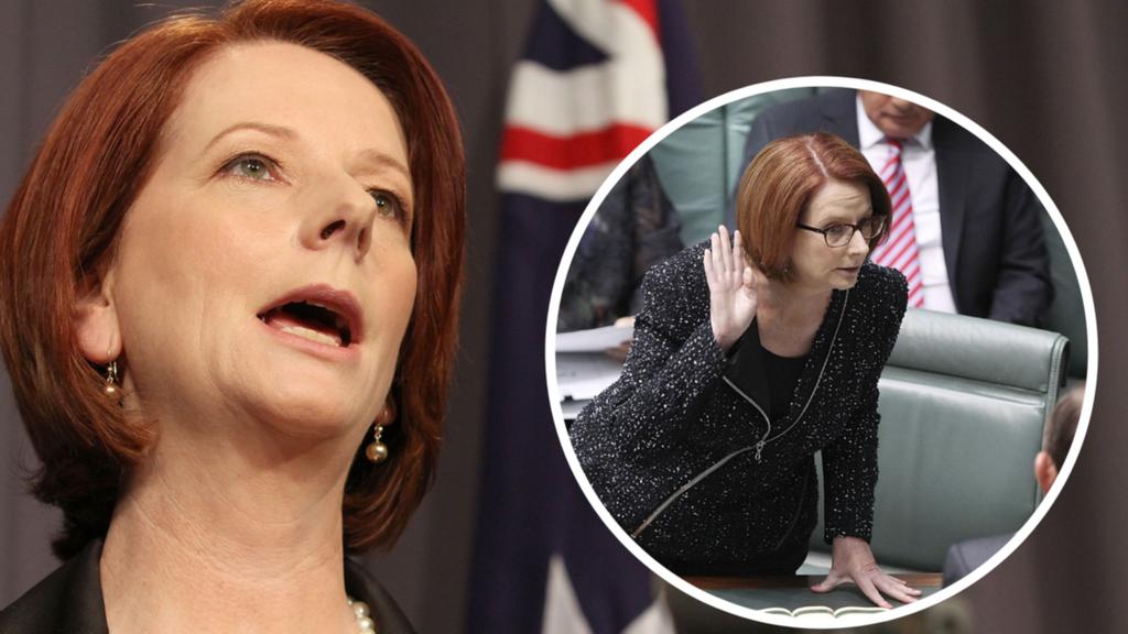 Julia Gillard berharap dia telah 'menamai dan mempermalukan' individu karena perilaku seksis sebelumnya