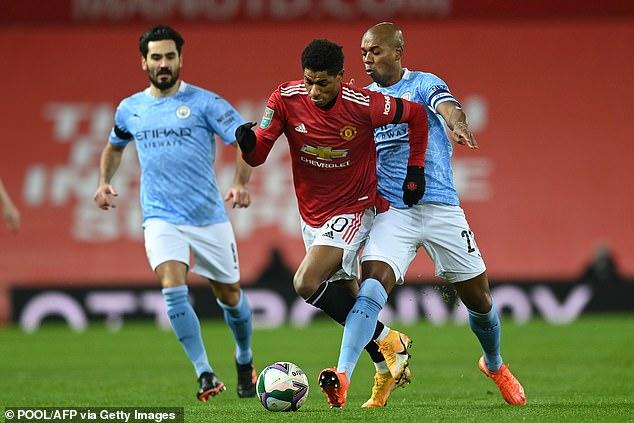 Marcus Rashford mengklaim Man United tidak fokus pada Metropolis asuhan Pep Guardiola dan kemenangan mereka