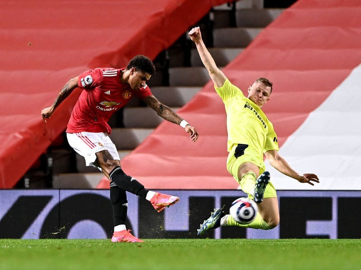 Manchester United won't be fazed by City's record run – Marcus Rashford