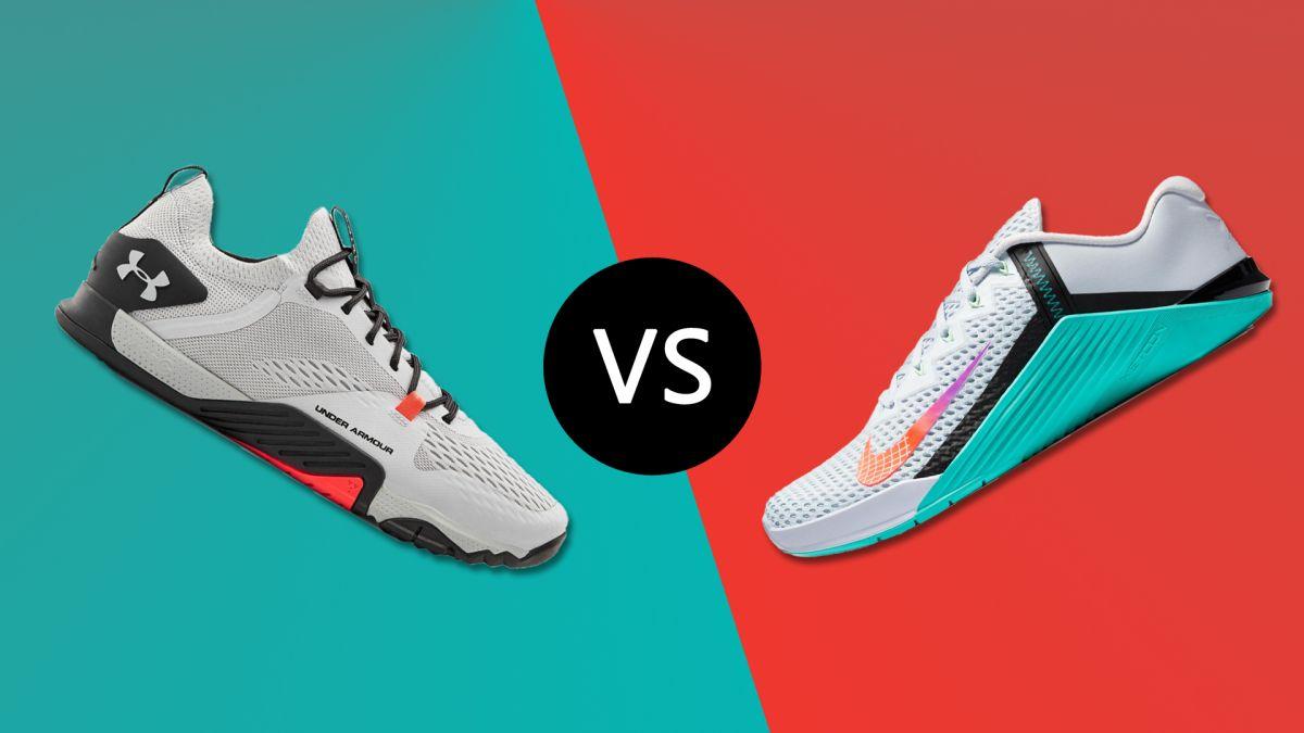 Under Armour TriBase Reign 2 vs Nike Metcon 6: manakah sepatu olahraga terbaik?