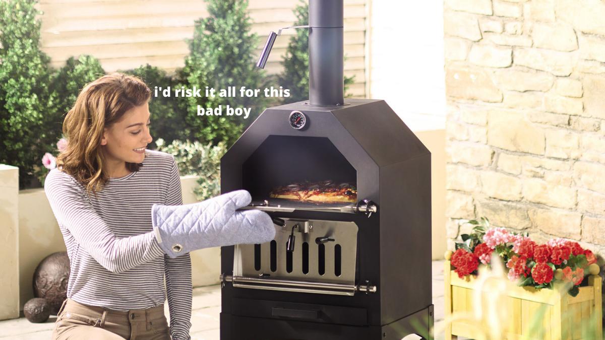 Aldi Menjual Oven Pizza Woodfire seharga $ 179 Dan Tawar-menawar Itu Nyata