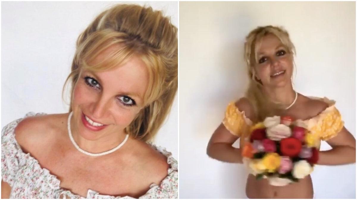 Britney Spears Menanggapi Penggemar Mengatakan Dia Hanya Bahagia & Otentik