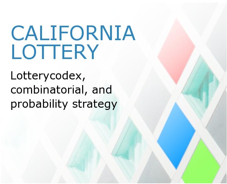 Lotere California - Menangkan Pertandingan Menurut Matematika