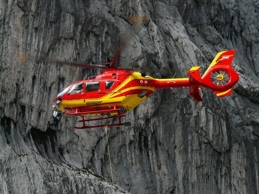 3000 Penerbangan Ambulans Udara Didanai oleh Postcode Lottery