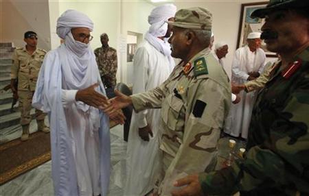 Rekonsiliasi yang tegang dimulai dengan suku Sahara Libya
