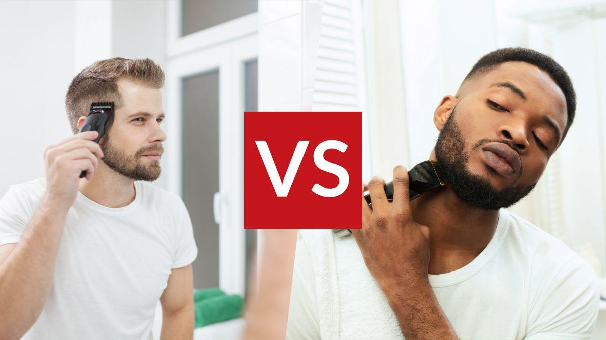 Gunting rambut vs pemangkas jenggot: apa bedanya?
