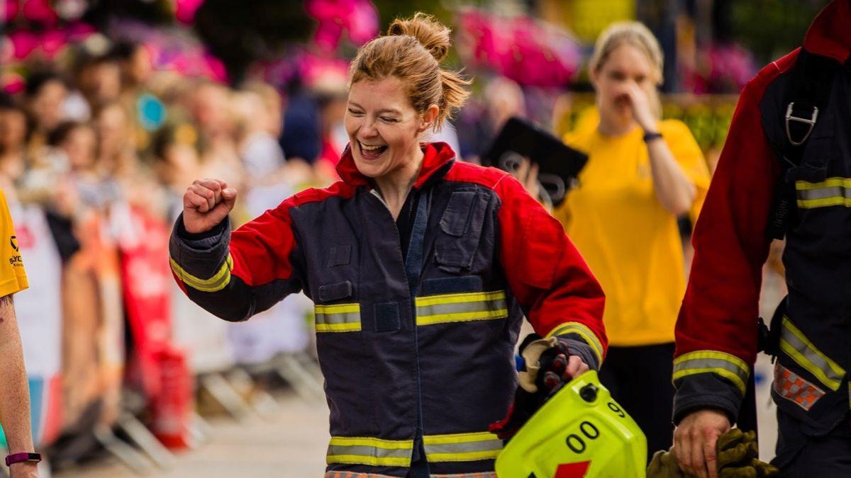 Ingin tahu cara menjadi bugar seperti pemadam kebakaran? Bersiaplah untuk BEKERJA…
