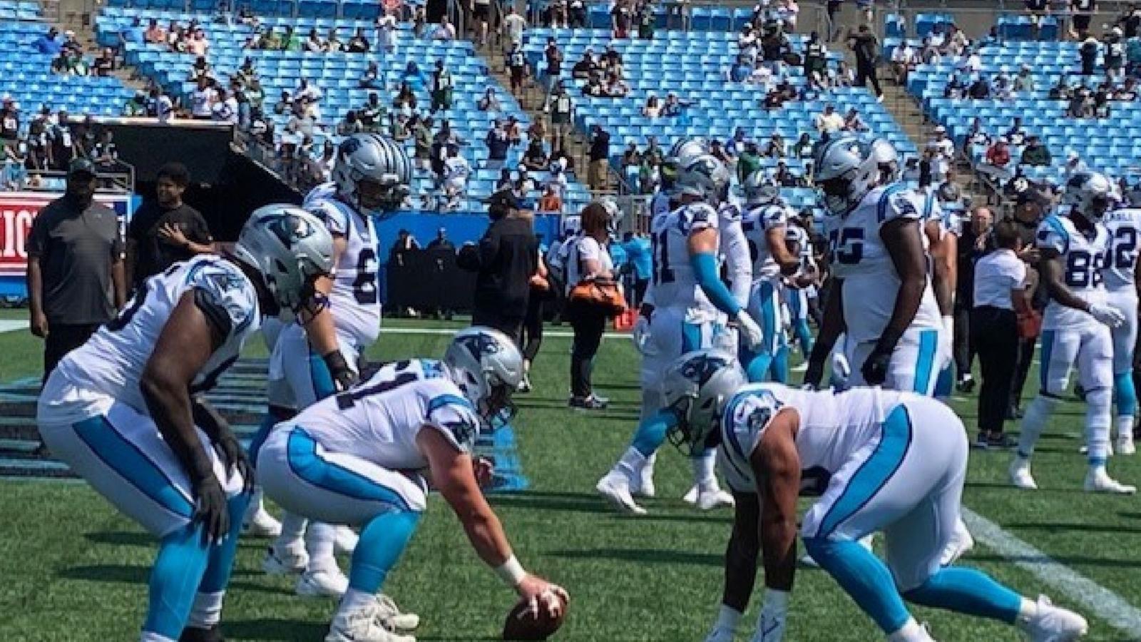 Darnold, pertahanan memimpin Panthers melewati Jets 19-14 di pembuka