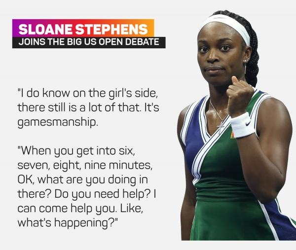 Stephens mengejutkan Gauff, mengatakan WTA memiliki masalah 'permainan' toilet break
